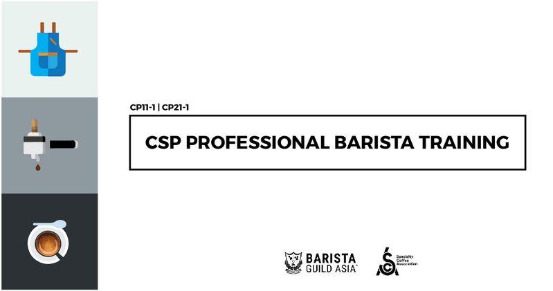 Professional Barista Training Sca Barista Foundation Intermediate