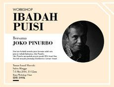 Ibadah Puisi Bersama Joko Pinurbo