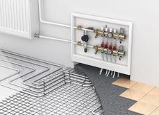 Installation d'un chauffage au sol