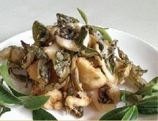 福隆活魚餐廳─茶葉魚柳