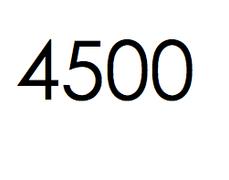 4.500 stuks. €675,- ex btw.