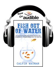 """His book, """"Fish Out of Water"""""""