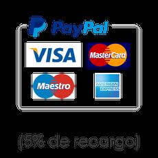 Tarjeta de Crédito a través de PayPal