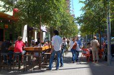 terrazas y cafés al aire libre