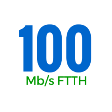100Mbps (OSFTTHB100150GB)