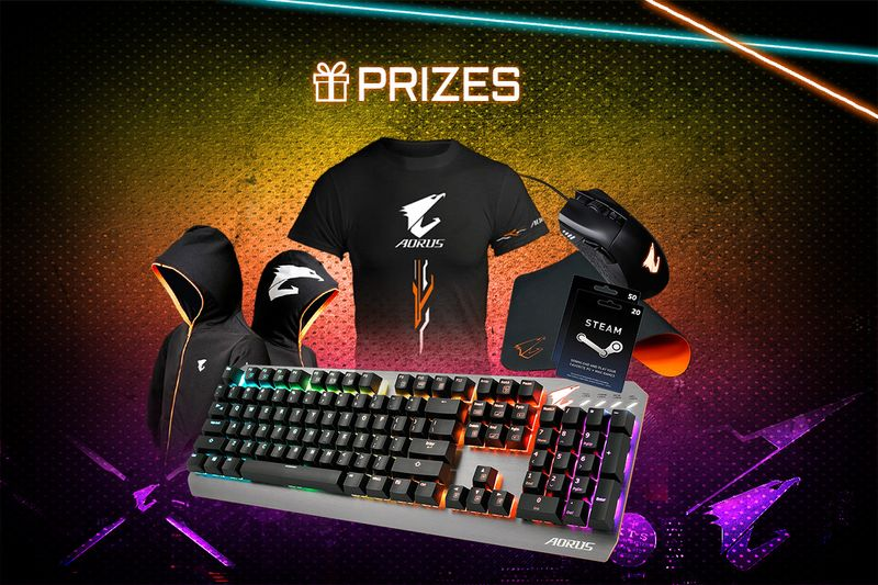Giveaway Aorus Goodies for Free #Worldwide | Free Stuff