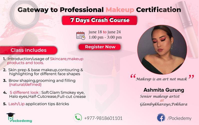 Professional Makeup Certification