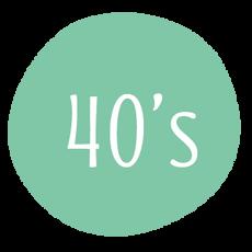 40 - 49 años