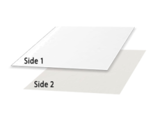 SBS Paperboard off white 1 Side / White 2nd Side