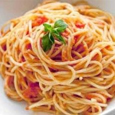 Favourite food, pasta