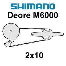 Shimano Deore 2x10