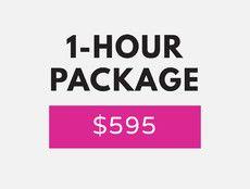 1 hour -- $595