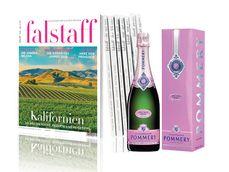 Jahresabo für € 59 | 1 Flasche Pommery Champagner Brut Rosé