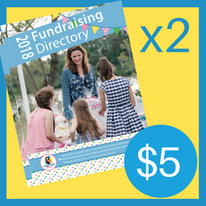 2 Copies of the 2018 Fundraising Directory ($5 for postage, directories are FREE!)