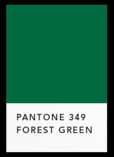 Темный зеленый