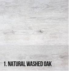 1. Natural Washed Oak