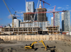 Construction (large condo developments, road construction)