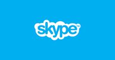 Over Skype