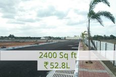 2400 sq.ft Rs.52.8L