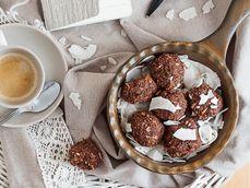 Choco Coconut Balls by Aggies Food Studio