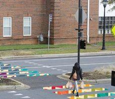 Artistic Crosswalks