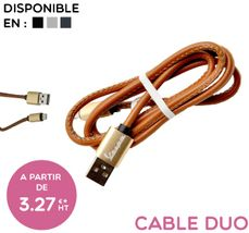 CABLE DUO