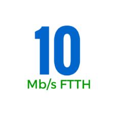 10Mbps (OSFTTHB10U)