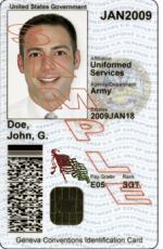 U.S. Military ID