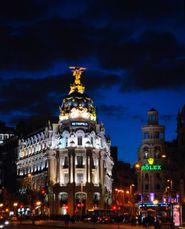 """""""La noche y Metrópolis, Madrid"""" Sergio Andrés Ortega Pinto"""