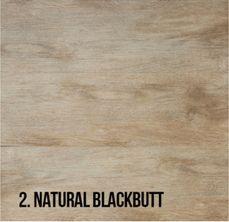 2. Natural Blackbutt