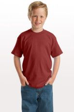 Cotton Blend Youth Shirt Play Logo