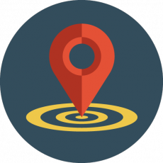 Location with GPS directions