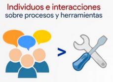 Individuos e interacciones sobre procesos y herramientas