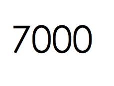 7.000 stuks. €1050,- ex btw.