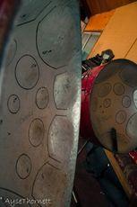 Steel pans