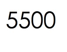 5.500 stuks. €825,- ex btw.