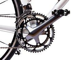 Delar av en cykel