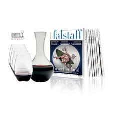 Jahresabo für € 59 | Riedel O Cabernet-Gläser Set mit Dekanter