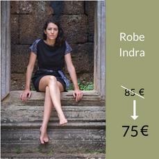 La Robe Indra : 75 €