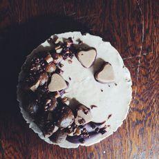 Raw Salter Caramel Cheesecake by Nourish Always