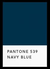 Темный синий
