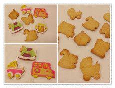 彩繪糖霜餅乾DIY材料包(彩繪餅乾)(糖霜餅乾)-童趣版