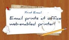 1-tap print-email