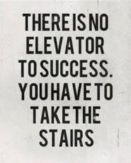 Achieving your goals.