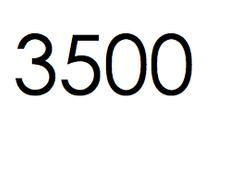 3.500 stuks. €525,- ex btw.