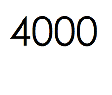 4.000 stuks. €600,- ex btw.