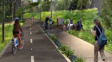 Create more off-road cycleways and paths