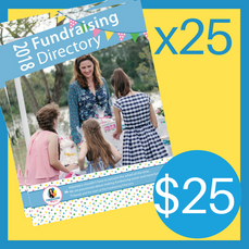 25 Copies of the 2018 Fundraising Directory ($25 for postage, directories are FREE!)