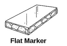 Flate Marker
