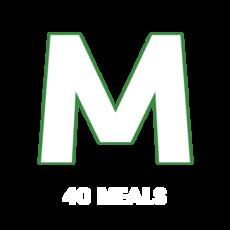Medium (550 avg. calories) - 40 MEALS